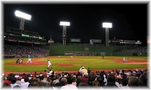 Red Sox game at Fenway Park