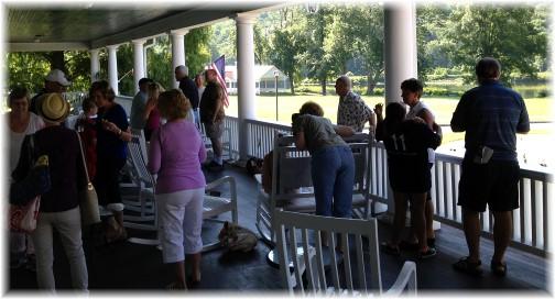 Steincross family members at Shawnee Inn, Poconos 5/21/15