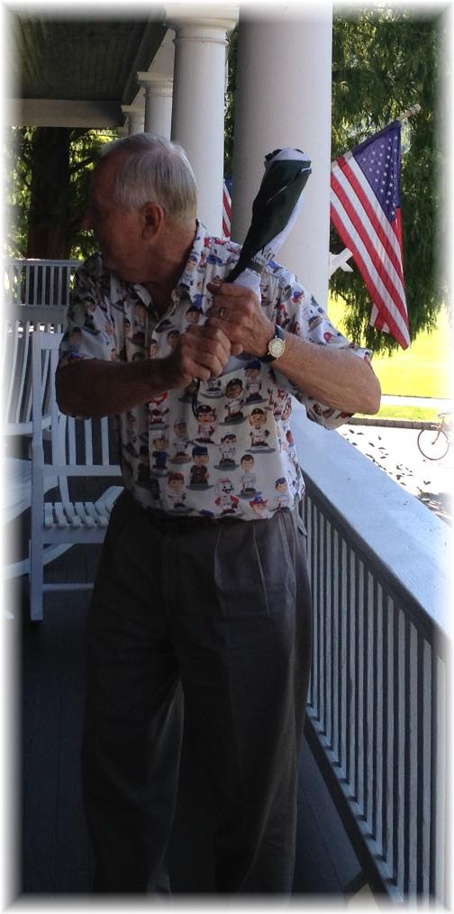 Steincross storyteller at Shawnee Inn, Poconos 5/22/15