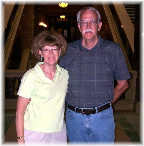 Doug & Georgia McKelvey  8/8/12