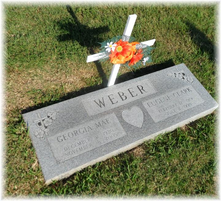 Weber tombstone