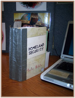 Duct tape Bible