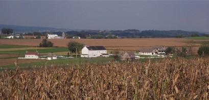 Photo of Amish farmview