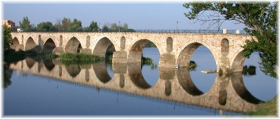 Bridge in Zamora Spain (Photo by Bill Jackson)