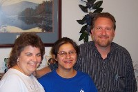 Photo of Mike and Kay, Ester's youth group leaders