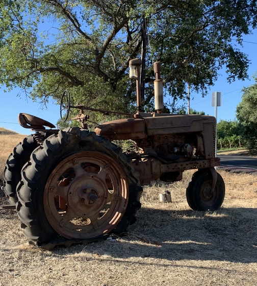 Tractor in Solano County California 7/23/19