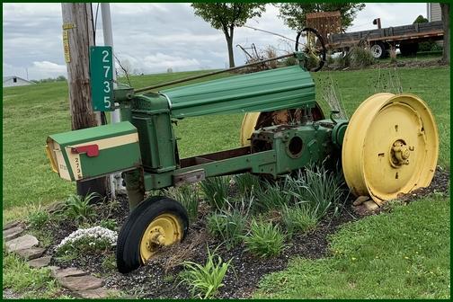 John Deere mailbox Adams County, PA 4/28/19