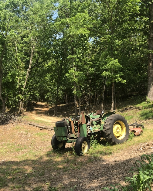 Abandoned tractor in Arkansas