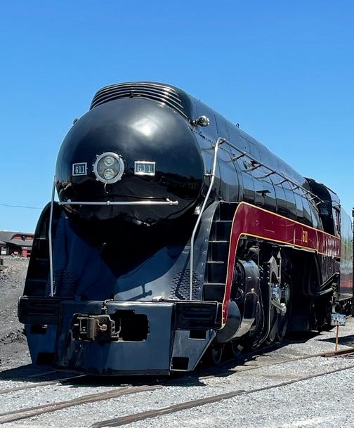 Norfolk and Western 611 steam locomotive