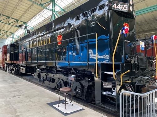 PRR electric locomotive, PA Railroad museum