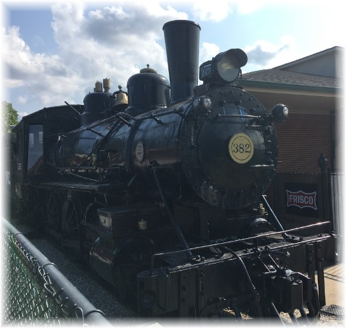 Train engine at Casey Jones museum 8/8/17