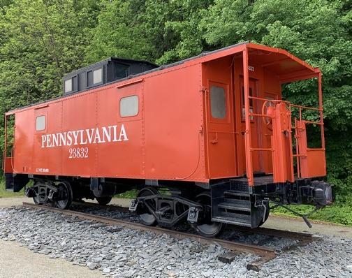 Enola Low Grade caboose, Lancaster County, PA