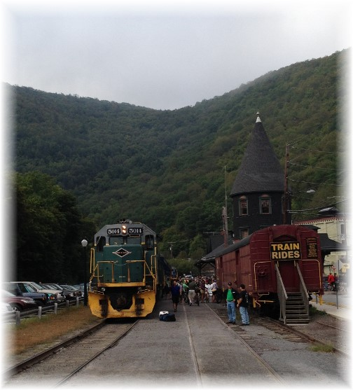 Jim Thorpe rail train 9/19/15