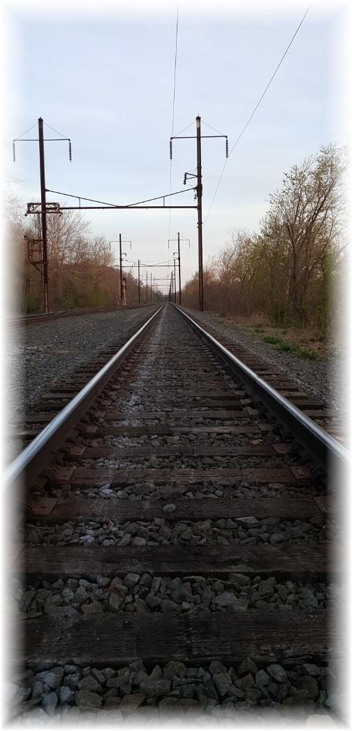 Norfolk Southern railroad tracks 04/18/16