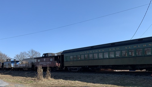Old railroad cars