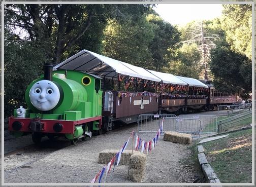 Redwood grove train 10/20/18