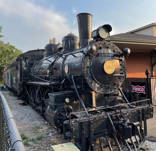 Steam engine 382, Jackson TN