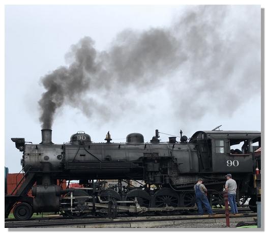 Strasburg Railroad Engine 90 7/26/18