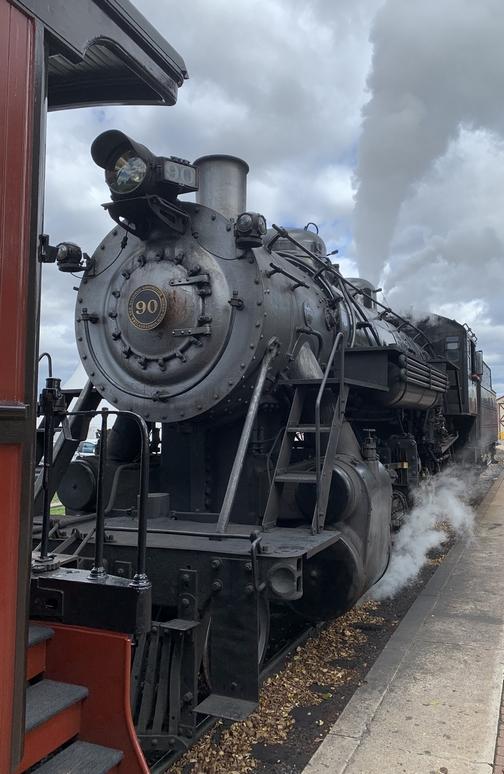 Strasburg Engine 90 10/17/19 (Click to enlarge)