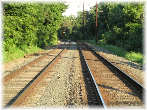 Train tracks, Lancaster County PA 8/3/15 (Mike Weber)