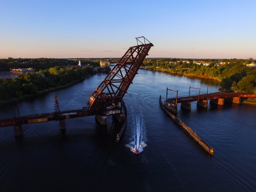Crook Point Bascule Bridge, Providence, RI