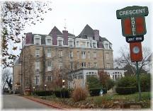 Crescent Hotel in Eureka Springs AR