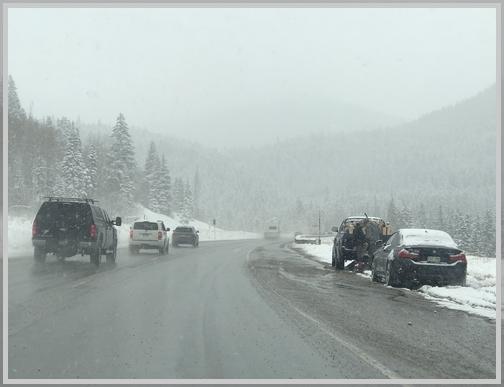 Snowy I-70 11/4/18
