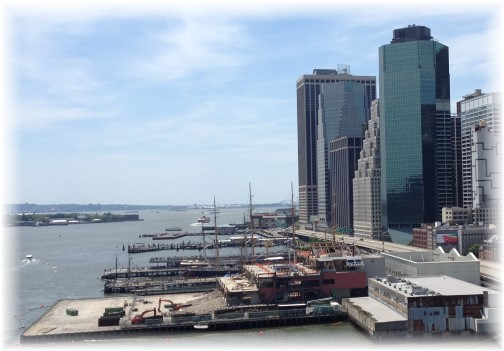 Tall ships from Brooklyn Bridge 5/26/14