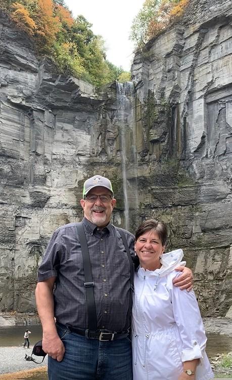 Taughannock Falls, Finger Lakes, New York