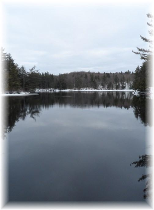 Adirondack lake 3/24/13