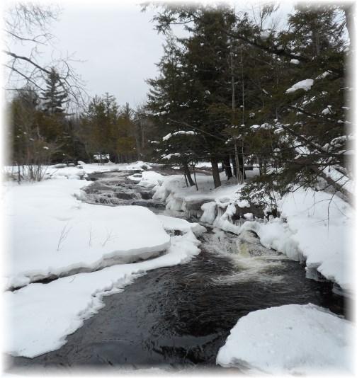Mountain stream in Adirondacks 3/24/13