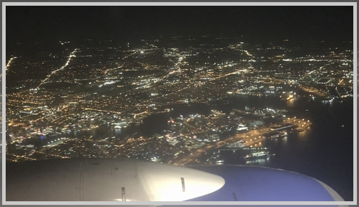 ________________ from the air