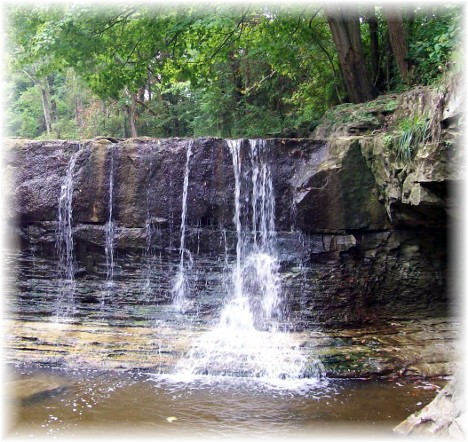 Anderson Falls near Columbus Indiana