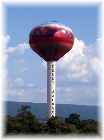 Virginia water tower