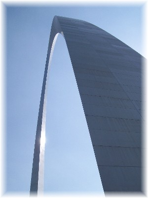 View from base of Arch