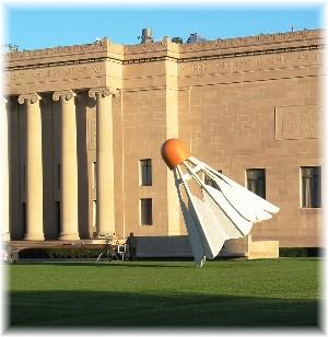 Badminton birdie in KC