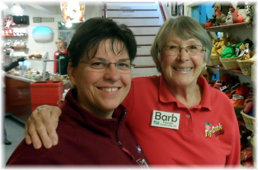 Barb, Fly Creek founder