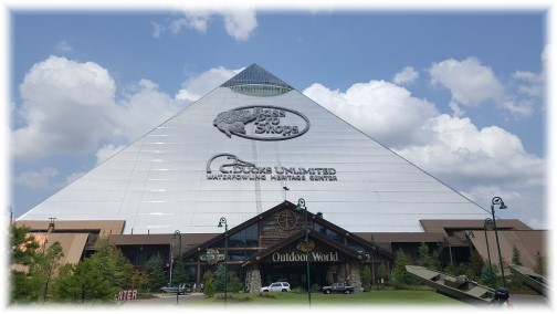 Memphis Pyramid, Bass Pro Shops 8/8/17