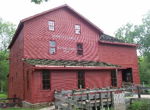 Bonneyville Mill near Bristol Indiana