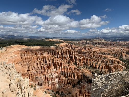 Bryce Canyon from Inspiration Point 9/28/19 (Click to enlarge)