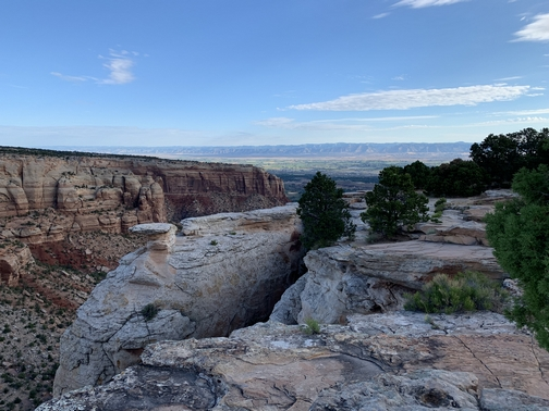 Cold Shivers Point, near Grand Junction CO 7/26/19 (Click to enlarge)