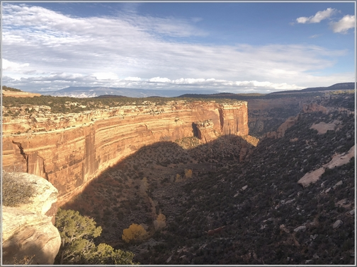 Colorado National Monument 11/3/18 (Click to enlarge)