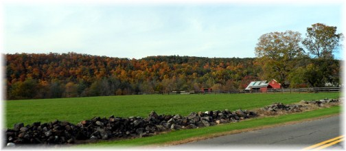 Connecticut farm scene 10/13/12