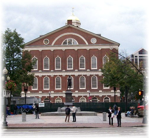 Fanauil Hall, Boston, MA
