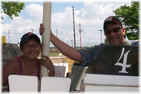 Ferris wheel at Indiana State Fair