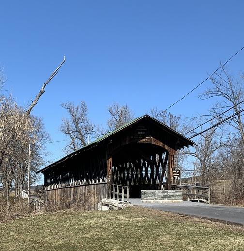 The Foxcreek Covered Bridge near Schoharie, NY 3/15/20