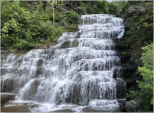 Hector Falls, New York 7/28/18
