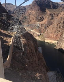 Hoover Dam power lines 9/24/19