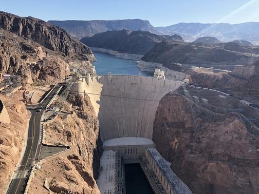Hoover Dam from bridge 9/24/19