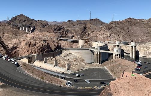Hoover Dam from overlook 9/24/19